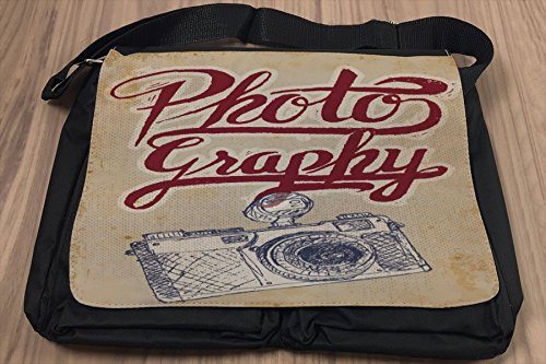 Umhänge Schulter Tasche Nostalgie Beruf Fotografie bedruckt 404tiL