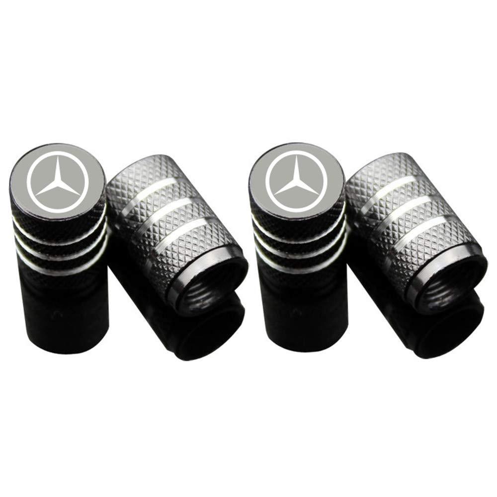 Juego de 4 tapones para v/álvulas de neum/áticos de coche para Mercedes Benz Azfdxgfc