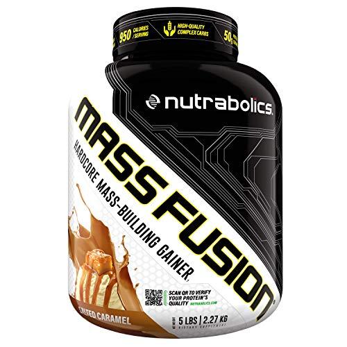 Nutrabolics Mass Fusion (Salted Caramel, 5 Ib (9 Servings))
