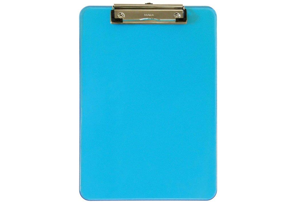 Maul |, Cartella porta blocco in plastica, A4, con pinza trasparente 2340505