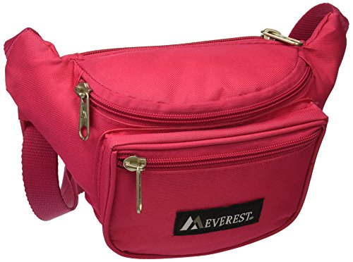 EVEREST Signature Fanny Pack,One Size,Pink