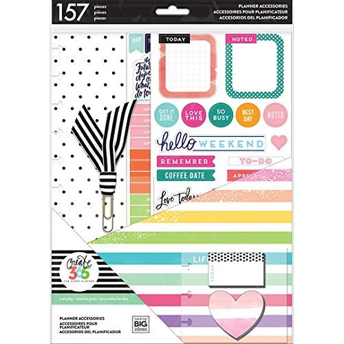 Create 365 TAP-05 Life is Lovely Big Accessories Happy Planner (157 per Pack), Multicolor