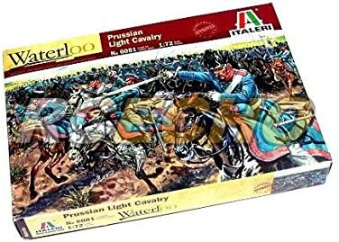 RCECHO/® ITALERI Waterloo 1//72 Napoleonic Wars Prussian Light Cavalry Hobby 6081 TA011 174; Full Version Apps Edition