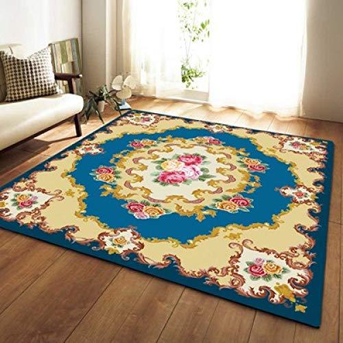 GSYDDTG Drop Ship Floral Large Floor Carpets for Living Room Non-Slip Area Rugs for Bedroom Sofa Carpet Bedside Rugs Alfombras ()