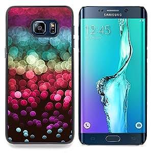 """For Samsung Galaxy S6 Edge Plus / S6 Edge+ G928 Case , Glitter Sea Sun Reflexión Rojo Púrpura"""" - Diseño Patrón Teléfono Caso Cubierta Case Bumper Duro Protección Case Cover Funda"""