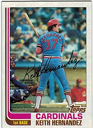 1982 Topps World Series Champion St Louis Cardinals Team Set With Keith Hernandez Bruce