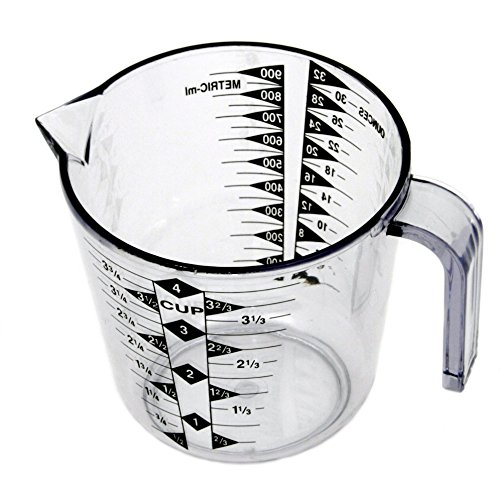 Chef Craft 4-Cup Measuring Cup, Clear ()