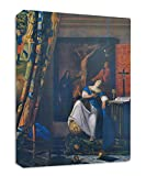Vermeer Allegory Of Faith Streched Canvas Wrap Frame Print Wall Décor - Full Border, 32''x48''