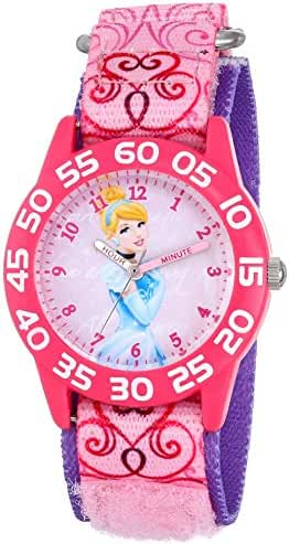Disney kids' W001193 Cinderella Time Teacher Watch
