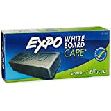 Expo 81505 Dry Erase Board Eraser, Soft Pile, 5 1/8 W x 1 1/4 H inches