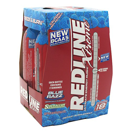 VPX Redline Xtreme RTD Blue Razz 6 - 4 packs 8 fl oz (240 ml) [32 fl oz (960 ml)]