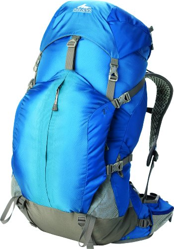 Gregory Mountain Products Z 55 Backpack, Azul Blue, Medium