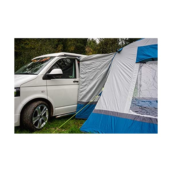 OLPRO Outdoor Leisure Products Cubo Breeze 3.1m x 3.1m Inflatable Drive Away Campervan Awning Blue & Grey