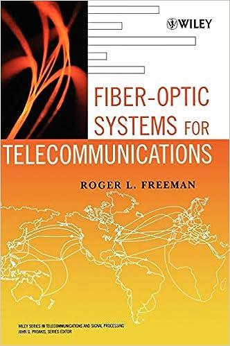 Fiber Optic Systems for Telecommunications: Roger L  Freeman