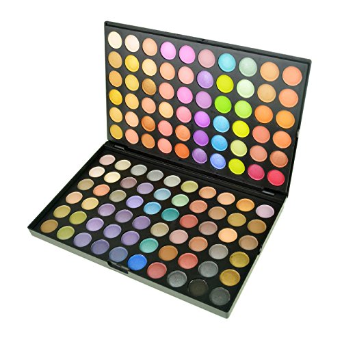 Jmkcoz 120 Colors Eyeshadow Eye Shadow Palette Makeup Kit Set (120 Full Color Palette)