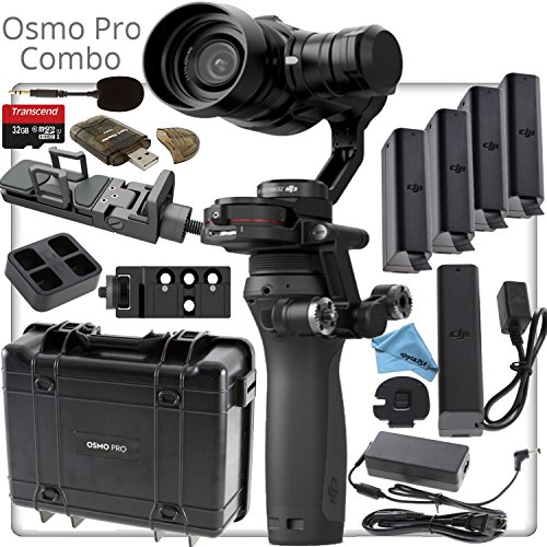 DJI OSMO Pro Combo - Includes 4 Batteries, Zenmuse X5, Osmo X5 Adapter, Pro Series Hard Carrying Case and much much more... by eDigital USA