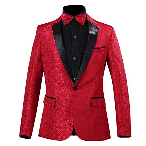 Pyjtrl Uomo Red Blazer Blazer Pyjtrl dq4606t