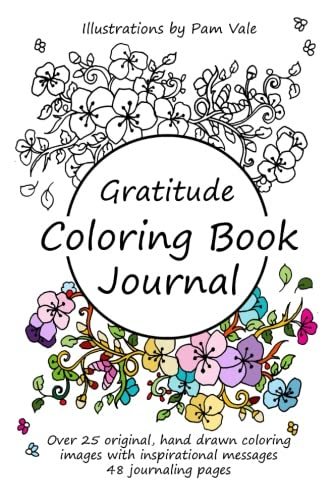 Gratitude Coloring Book Journal