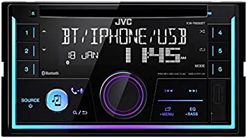 Jvc Autoradio Kwr930bt 2 Din Bluetooth Spotify Mit Einbauset Für Alfa 159