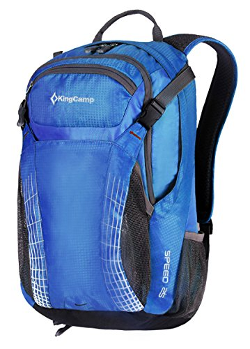 Kingcamp Outdoor Hiking Backpack Water Resistant Travel Backpack Lightweight Daypack With Rain Cover 25L