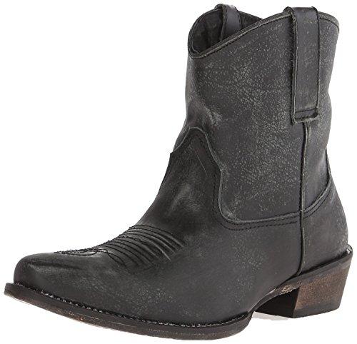 Roper Women's Dusty Western Boot, Black, 9.5 M US