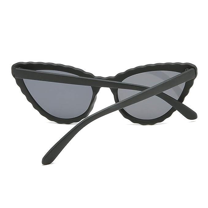 Gafas de Sol De Ojos de Gato,Cebbay Clásico Espejo Lentes ...