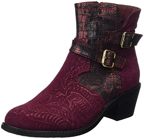 Laura Vita Women's Alessandra 11 Boots Red (Wine) for sale official site PHBlyABK