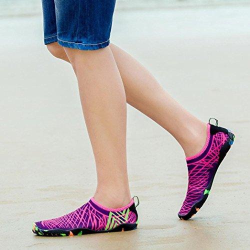 Femme EU 36 Rose 5 Sneakers Rose Basses Vif wuayi wxqga8RE8
