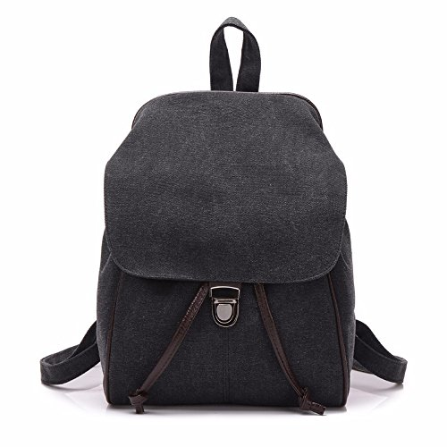 shoulders little backpacks bags canvas bags shoulder mini MSZYZ cute Women's black fresh bags qYwf8IaxI