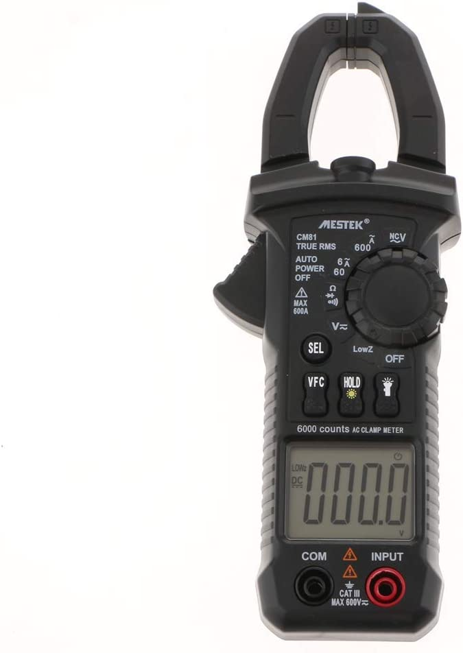 HYY-YY CM81 Digital Clamp Meter~5999 Counts Auto-ranging AC//DC RMS NCV Diode