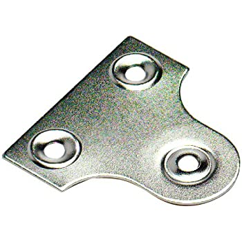 25mm Flat Chrome Glass//Mirro Picture Frame Hanging Bracket 1/'/'