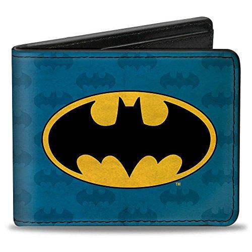 Buckle-Down Buckle-Down Bifold Wallet Batman Accessory, -Batman, 4.0