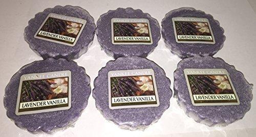 (Yankee Candle Lot of 6 Lavender Vanilla Tarts Wax Melts)