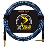 Guitar Cable 10 ft - 1/4 Inch Right Angle