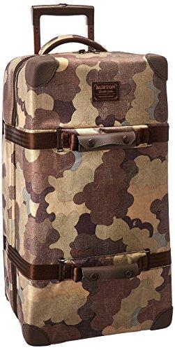Burton Wheelie Double Deck Travel Bag, Storm Camo Print