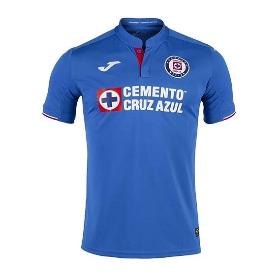 3d4bfbebf13 Amazon.com  Joma Men s Cruz Azul Home Jersey 2018 19  Clothing