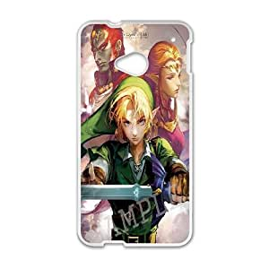 HTC One M7 Cell Phone Case White legend of zelda 1 JSK799418