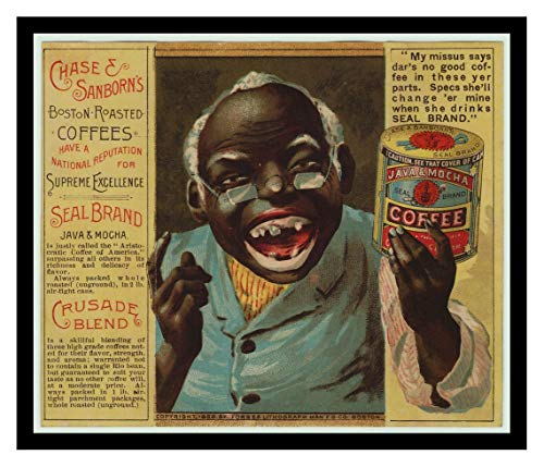 Iron Ons 8 x 10 Photo Chase and Sanborn Java Coffee Vintage Advertising 1881 Vintage Old Advertising Campaign Ads -