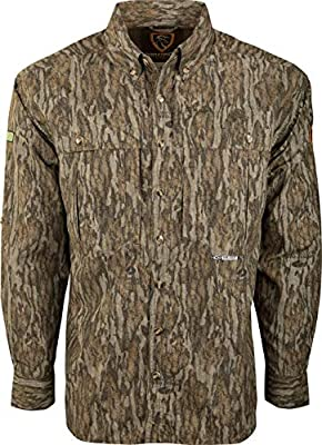 Drake L/S Dura-Lite Shirt with Agion