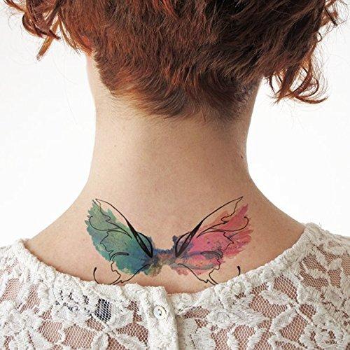 Alas acuarela - Tatuajes temporales: Amazon.es: Handmade