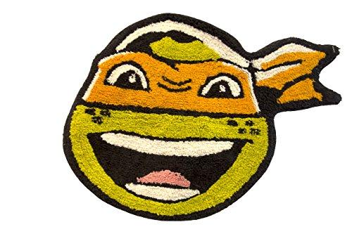 Nickelodeon Teenage Mutant Ninja Turtles Bath Rug, Mickey Mat -