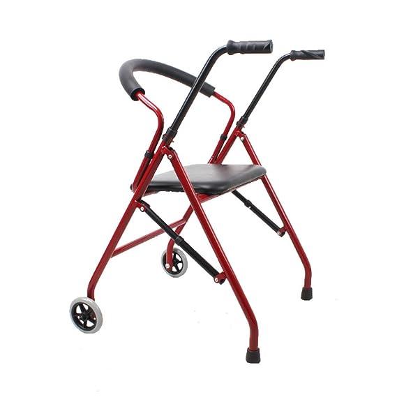 Andador plegable (más bolsa y 2 ruedas) - Soporte con ruedas ...