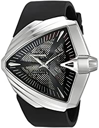 Men's H24655331 Ventura XXL Analog Display Swiss Automatic Black Watch