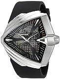 Hamilton Mens H24655331 Ventura XXL Analog Display Swiss Automatic Black Watch