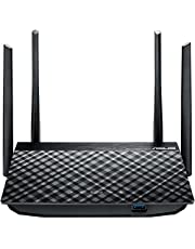 ASUS RT-AC58U - Router inalámbrico Dual-Band AC1300 Gigabit (USB 3.0, Servidor VPN, MU-MIMO, CPU Quadcore)