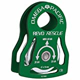 Omega Pacific Revo Rescue Pulley, Green
