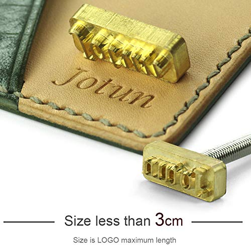 - Brass Leather Stamps Logo Carving Tools Embossing Seal Hot Branding Personalized Mold Heating on Wood Custom Iron Parts, Size Less Than 3cm