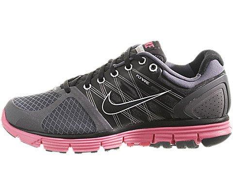 official photos 1bc1d e363c Nike Lunarglide+ 2 Womens 407647-081 (6, Wolf Grey/Peach ...