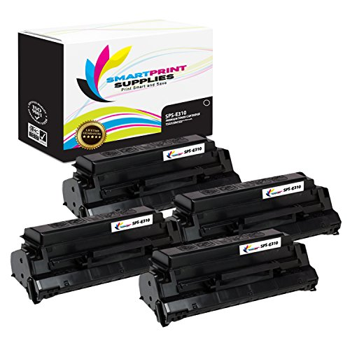 Smart Print Supplies Compatible 13T0101 Black Toner Cartridge Replacement for Lexmark Optra E310 E312 Printers (6,000 Pages) - 4 Pack ()