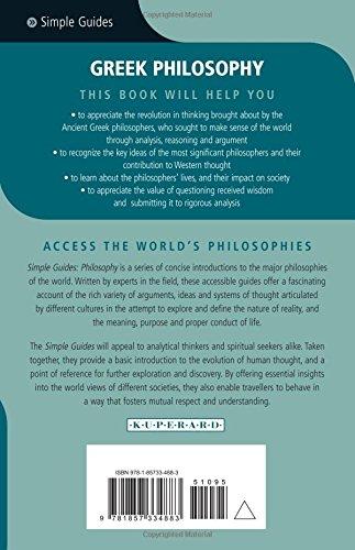 Greek Philosophy - Simple Guides